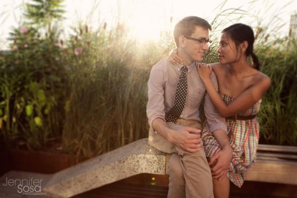 Cinelle+Stephen | Chelsea market & Highline | NYC Engagement photographer |