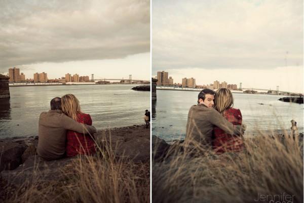 Leigh Ann + Jeremy | Engagement | DUMBO