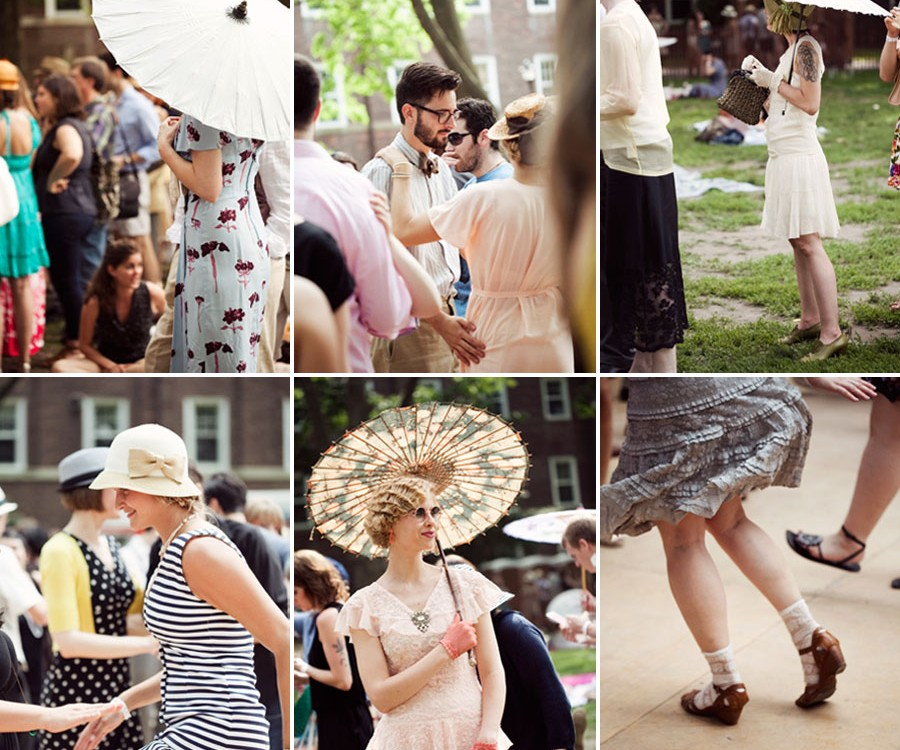 1920s Jazz age lawn party