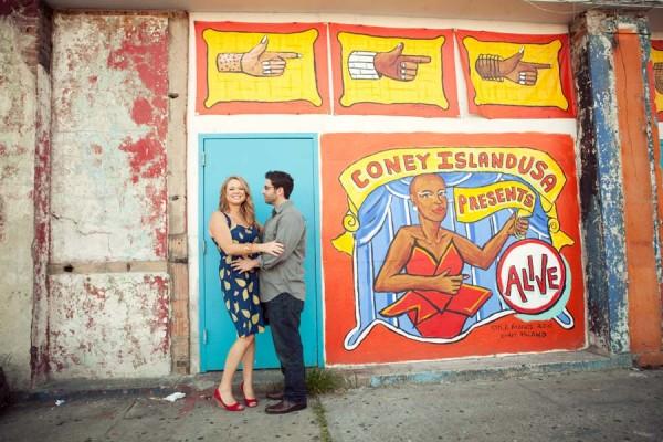 Kate+Joe  |   Coney Island engagement