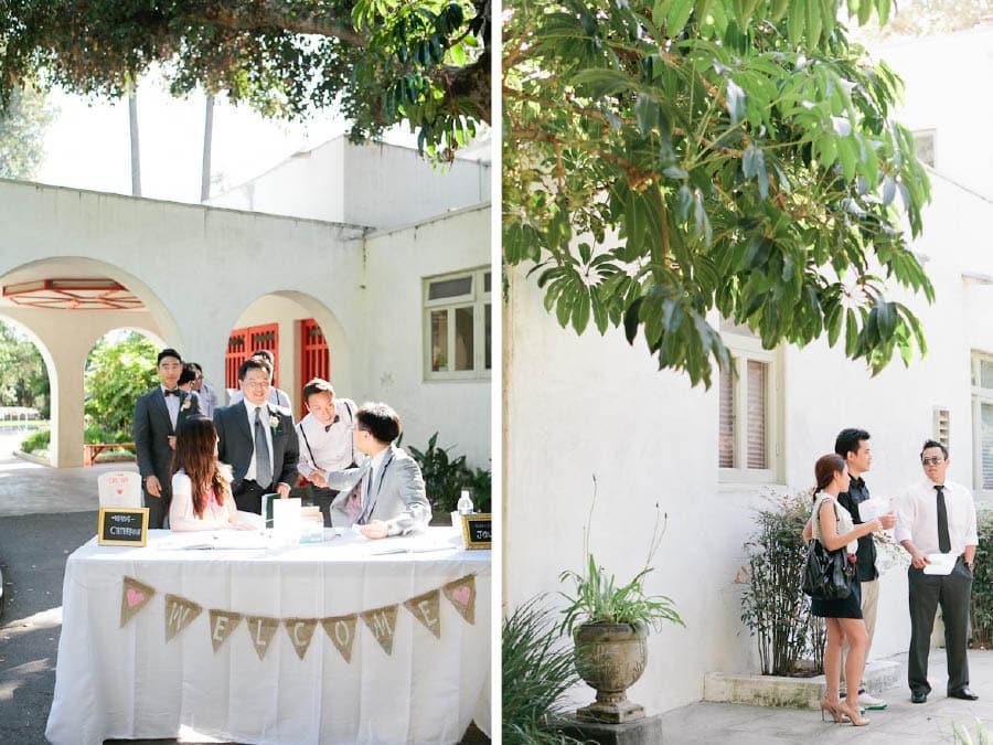 Clark estate wedding