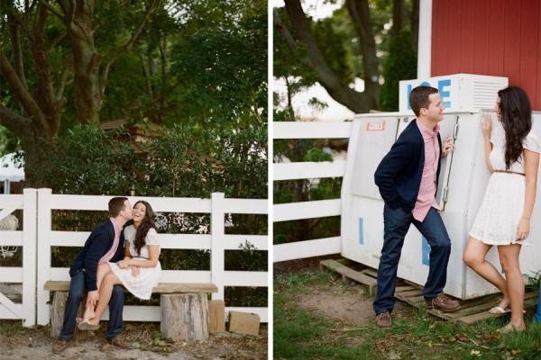 Vineyard engagement // Natalie+Jordan