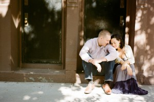 Jennifer Sosa. MeatPacking district engagement photos8